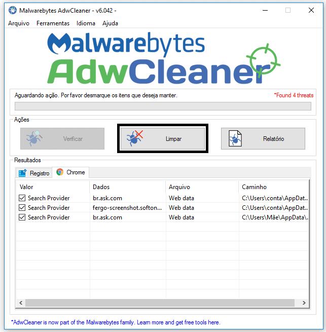 AdwCleaner é bom