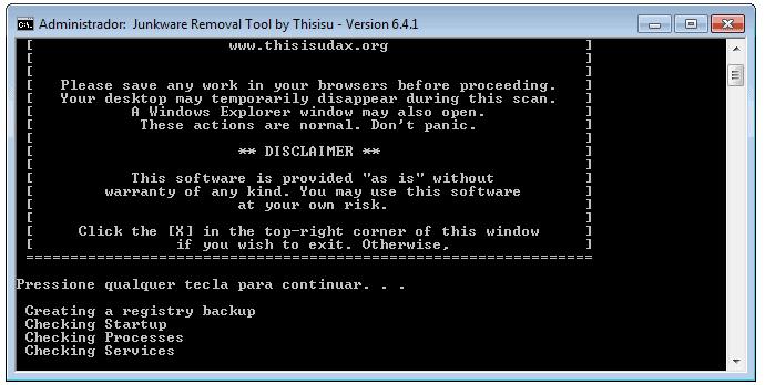JRT Junkware Removal Tool