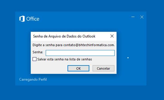 Como recuperar a senha do arquivo PST do Outlook