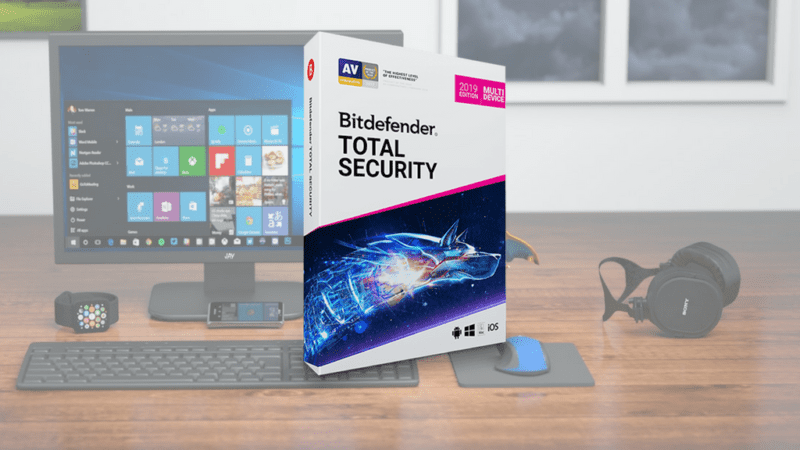 antivírus bitdefender total security 2019